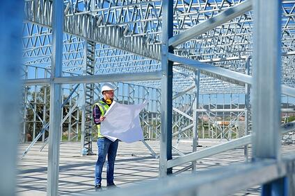 Steel building kit construction Evanston, IL | STEVENS
