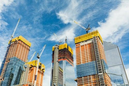 Steel building kit construction