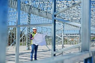 STEVENS Steel Erection Services Can Erect Your Metal Building