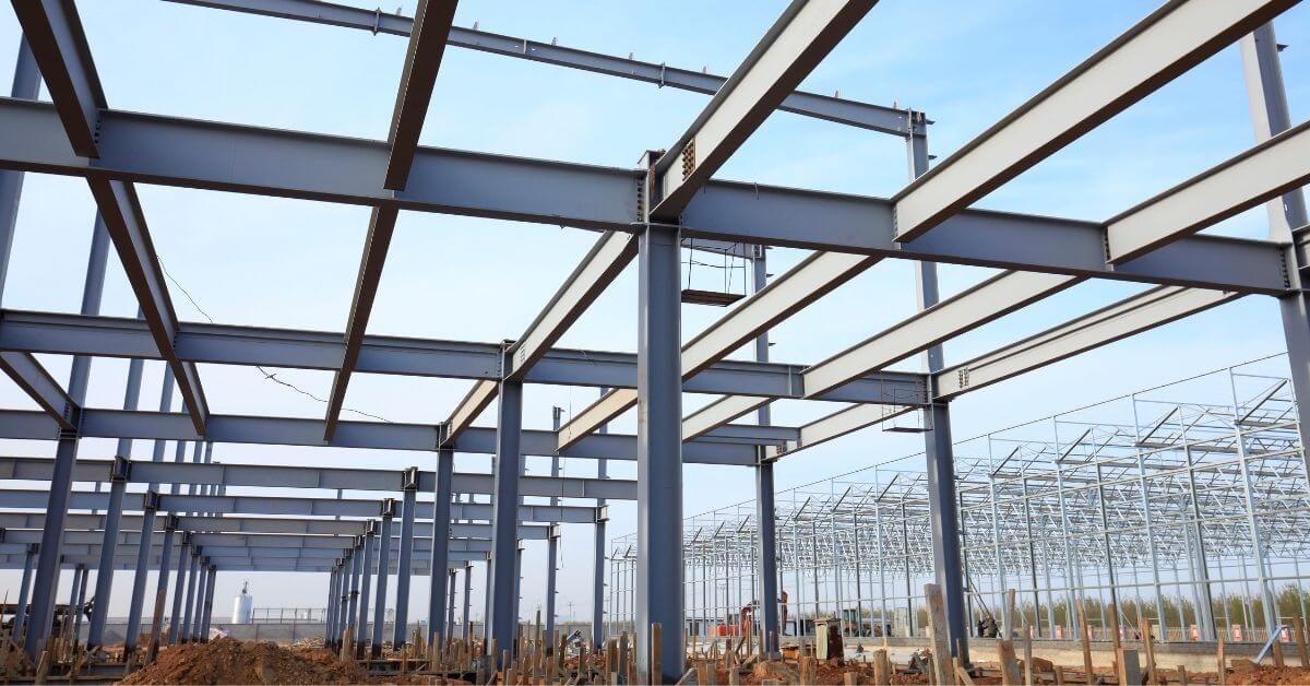 this-pre-engineered-metal-building-used-a-steel-erection-company